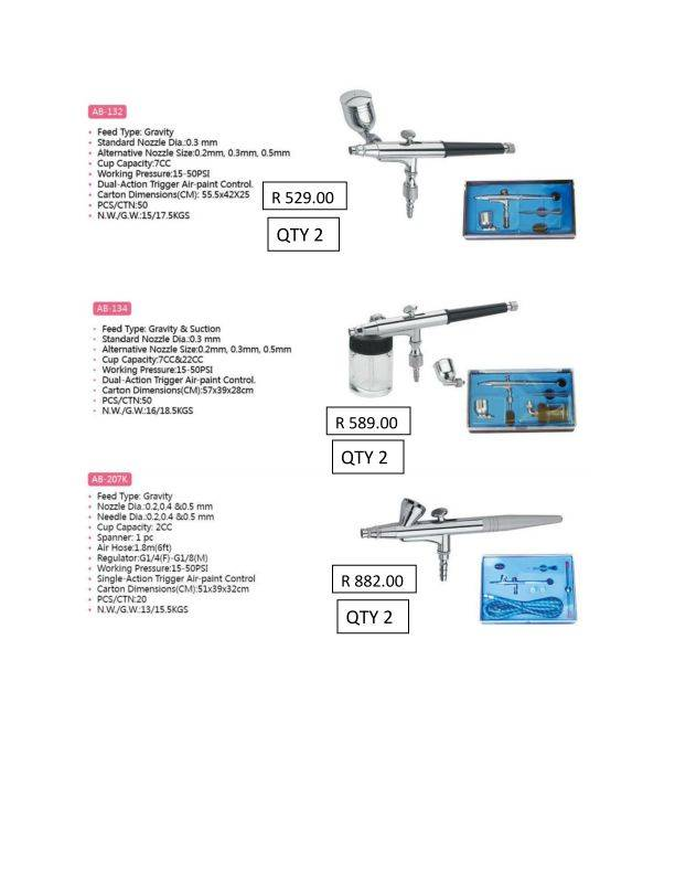 ROYAL MAX AIRBRUSHES & ACESSORIES FROM THERAMIC  Royalmaxad_page_002