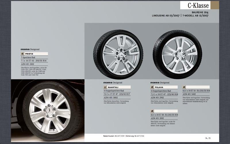 (C/S/W204): Medidas oficiais das rodas e pneus File-104