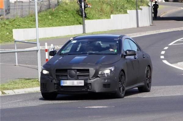 (C117): Mercedes CLA45 AMG aparece pela primeira vez File-19