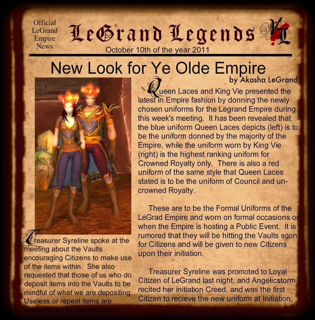 LeGrand Legends 101011-1
