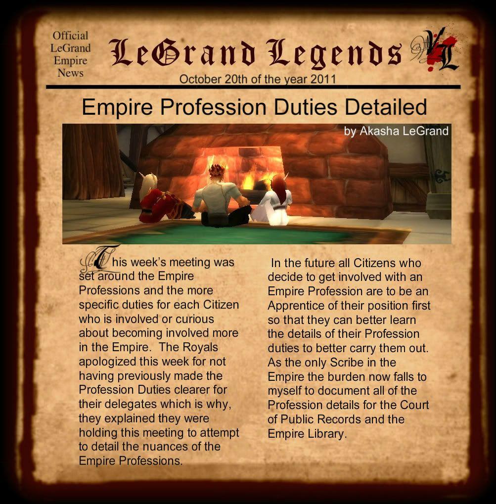 LeGrand Legends 102011-1
