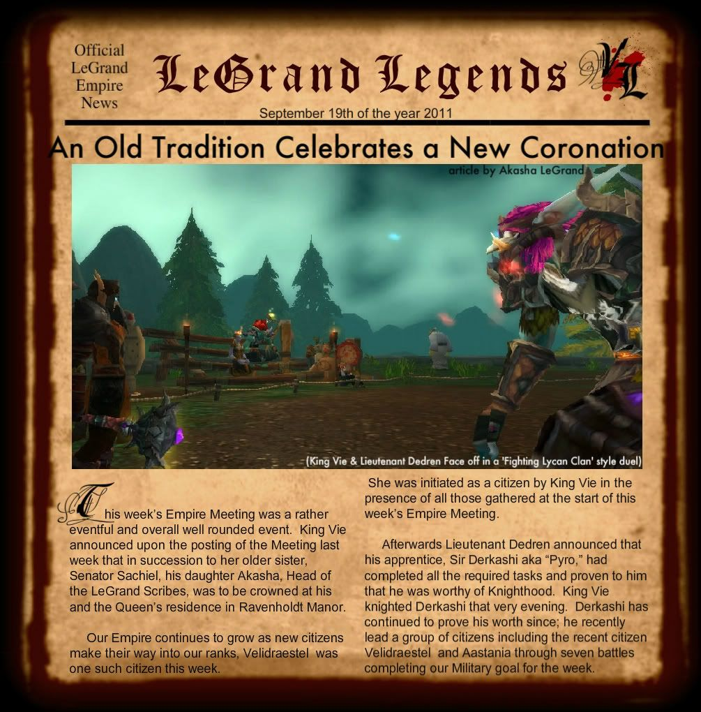 LeGrand Legends 91911-1