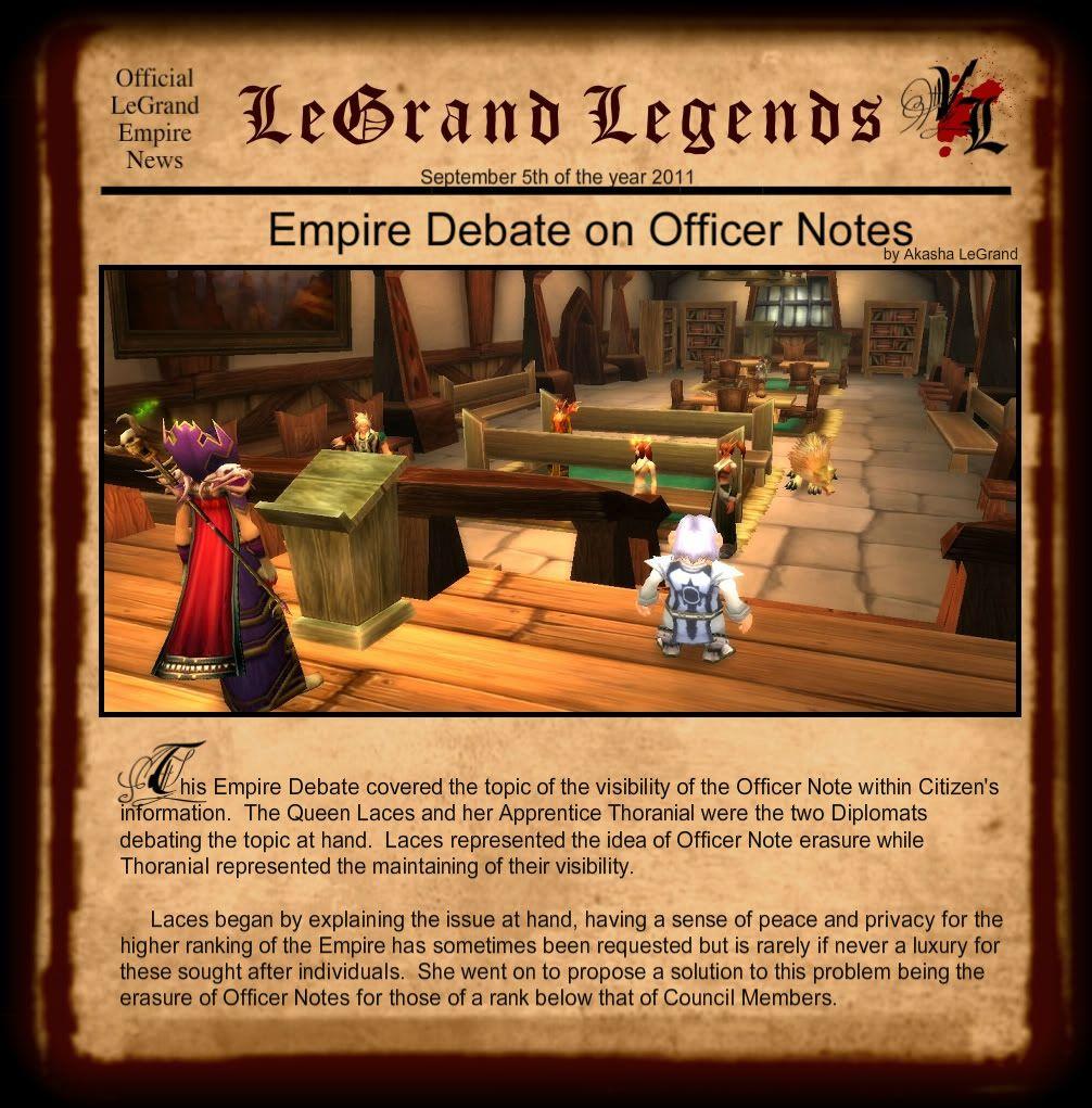 LeGrand Legends 9511-1