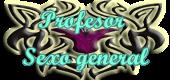 Profesor sexo general