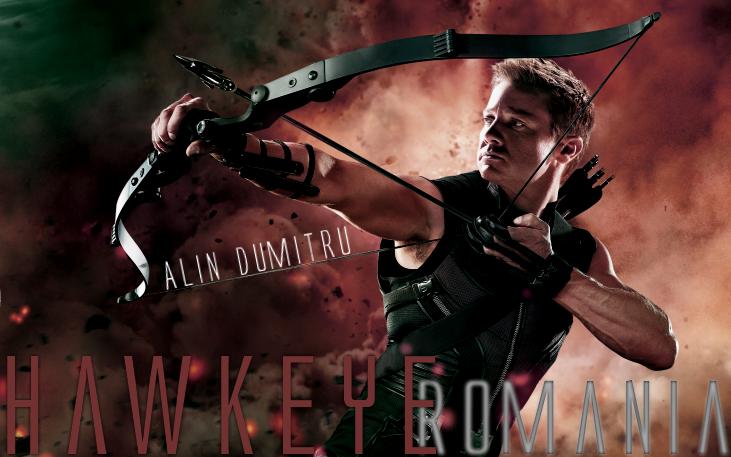 The Avengers Meets APH! Hawkeye