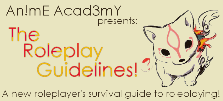 Survival Guide From Anime Club Website Rp