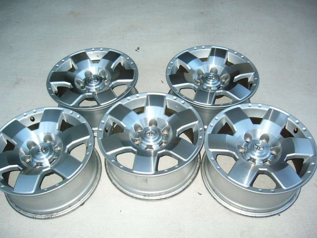 "FS-5 17"" Alloy Wheels SOLD FJCruiserWheels001"