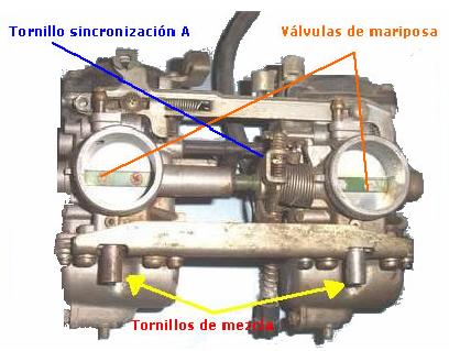 CARBURACION: Sincronizacion de carburadores  Carbu01