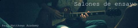 {Salones de ensayo
