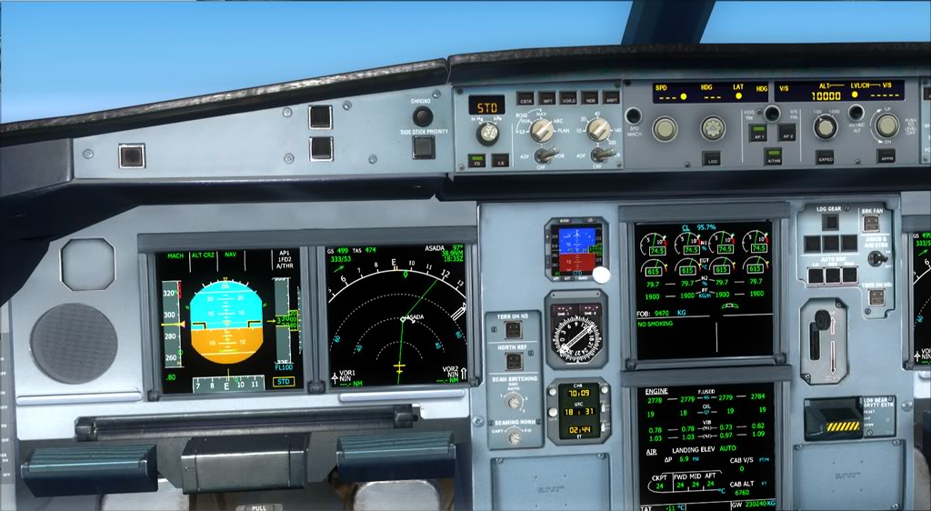 Merge Airbus A340-300 Thomas Ruth com Airbus Wilco Evolution Series Vol. 2 Fsx2012-01-2318-48-25-45