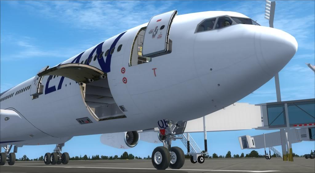 Merge Airbus A340-300 Thomas Ruth com Airbus Wilco Evolution Series Vol. 2 Fsx2012-01-2319-33-57-36