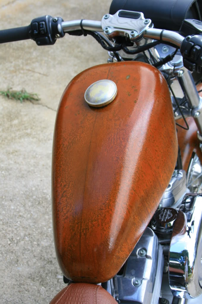 My 2002 Sportster bobber project Newrustpaint9-23-20114