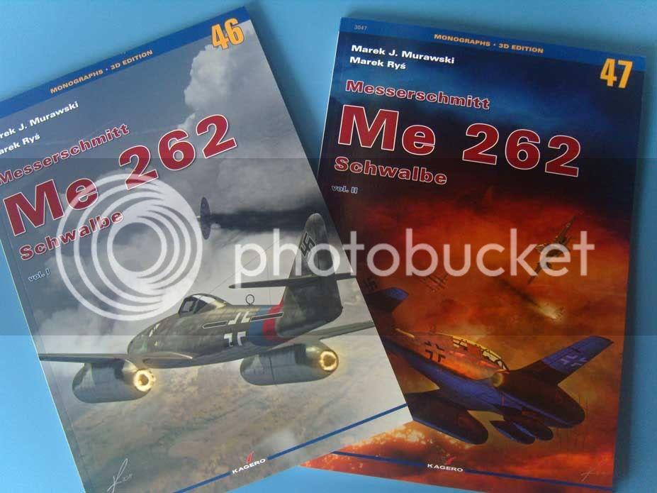 Me 262 livros da Kagero 015-20