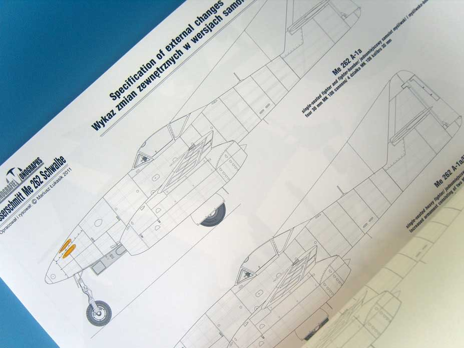 Me 262 livros da Kagero 026-5