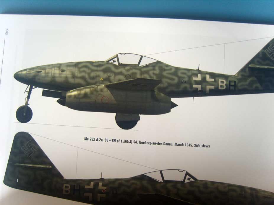 Me 262 livros da Kagero 035-2