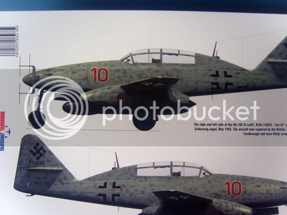 Me 262 livros da Kagero 037-2