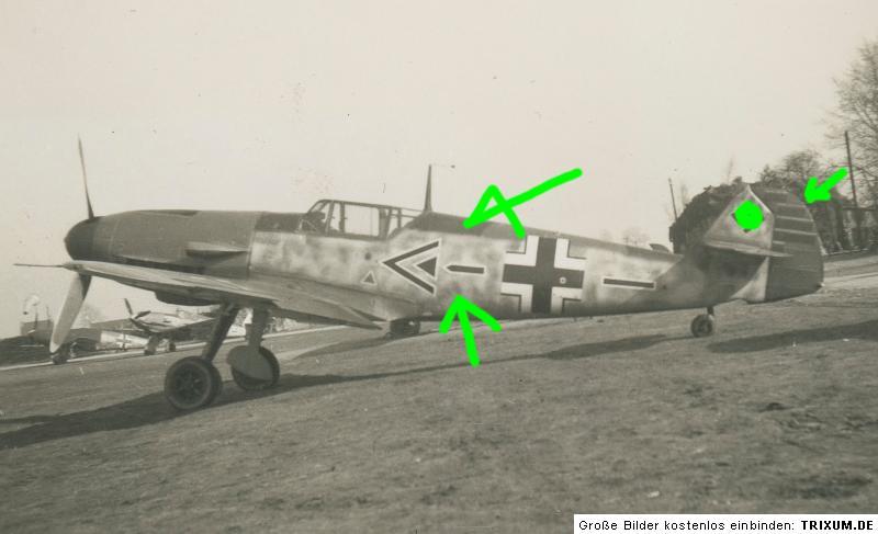 Bf 109F do Mölders no ebay Mlderrr