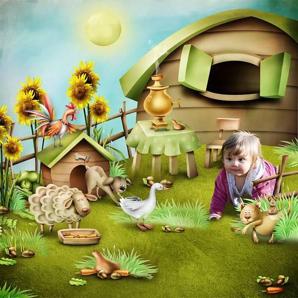 Autumn on a farm (Осень на ферме) Autumn-on-a-farm-by-Olga-Unger