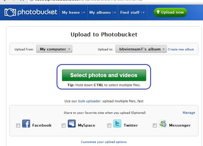 Hướng dãn cách post ảnh Photobucket6