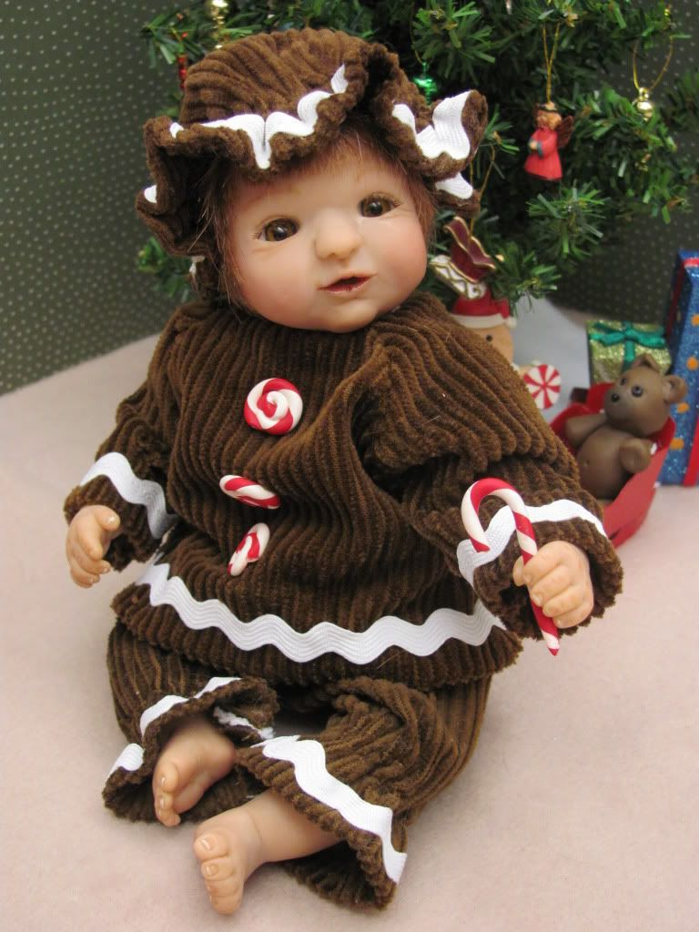 Jaylee the gingerbread girl up for auction Jaylee1