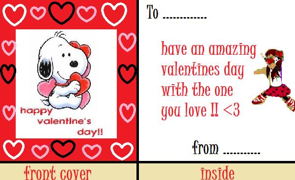 Valentine's day contest Cardidea