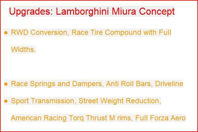 RetPetty's 2006 Lamborghini Miura Concept Review Upgrades
