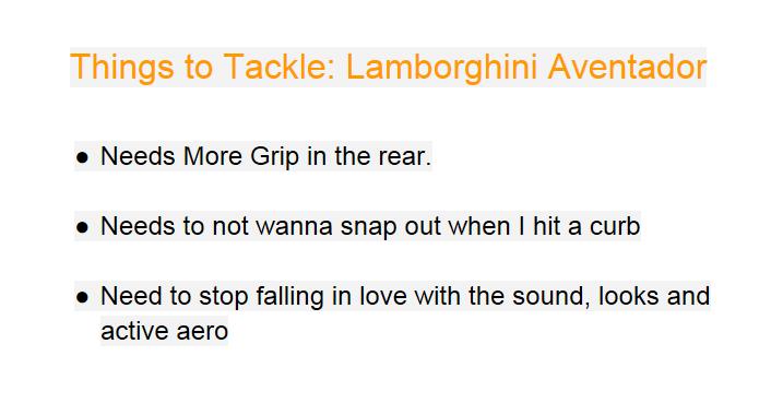 Lamborghini Aventador Review ThingsToTackle