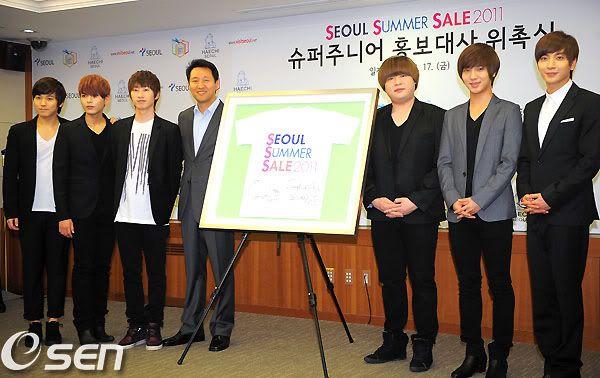 [INFO]Super Junior, Son Nombrados Embajadores De Las Compras En Seul  SuperJunior108