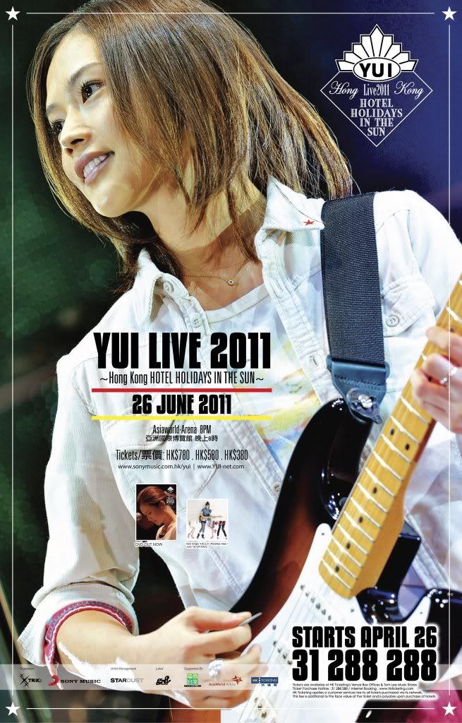 YUI Posters HHITS-Hong-Kong