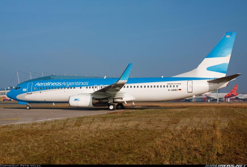 Aerolineas Argentinas 737-800 84331f63