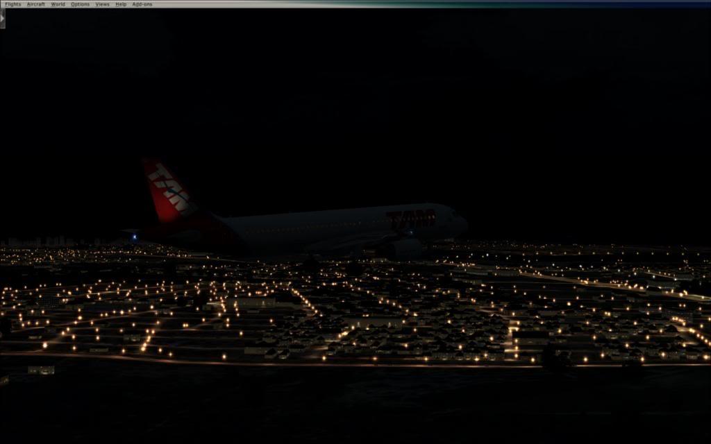 Testando as luzes do FTX no cenário de SBNT por Paulo Ricardo 2014-1-7_0-26-35-353_zpsf9cc6e6e
