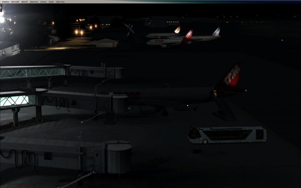 Testando as luzes do FTX no cenário de SBNT por Paulo Ricardo 2014-1-7_0-37-25-44_zpsa6a50b48