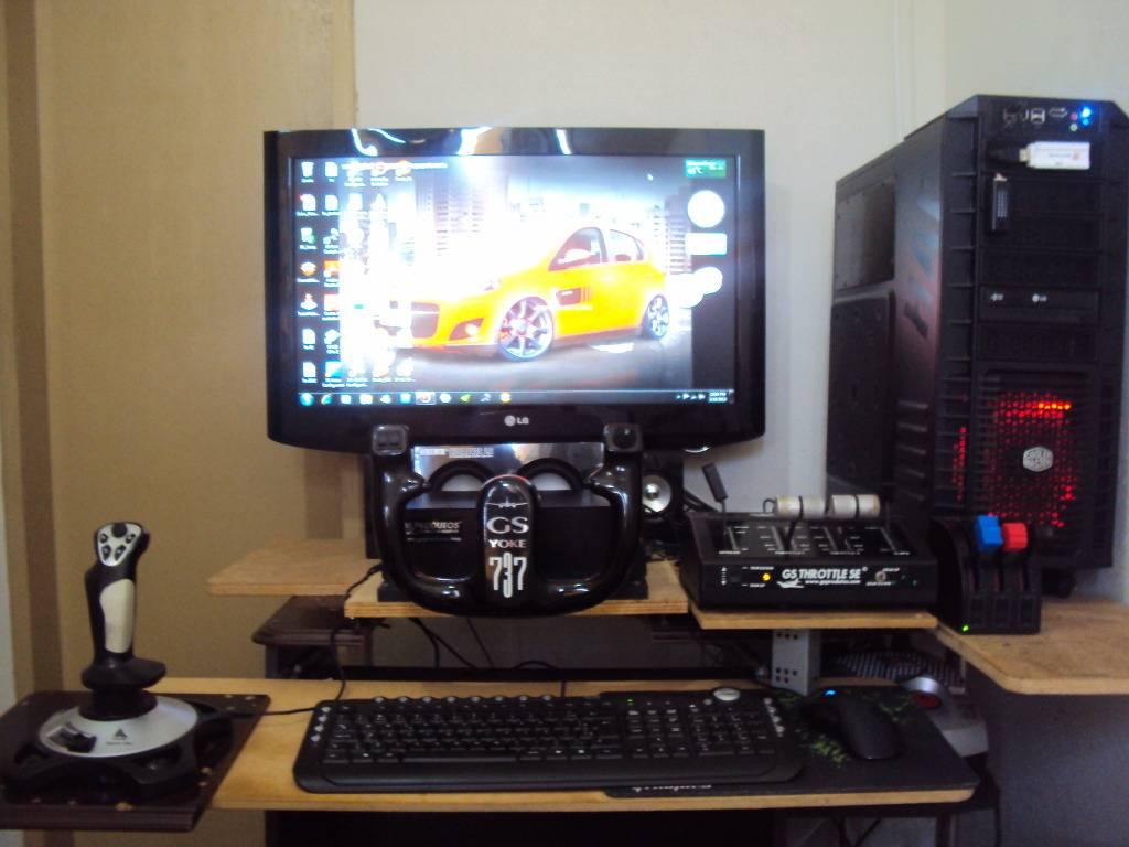 Home cockpit e a máquina DSC09516