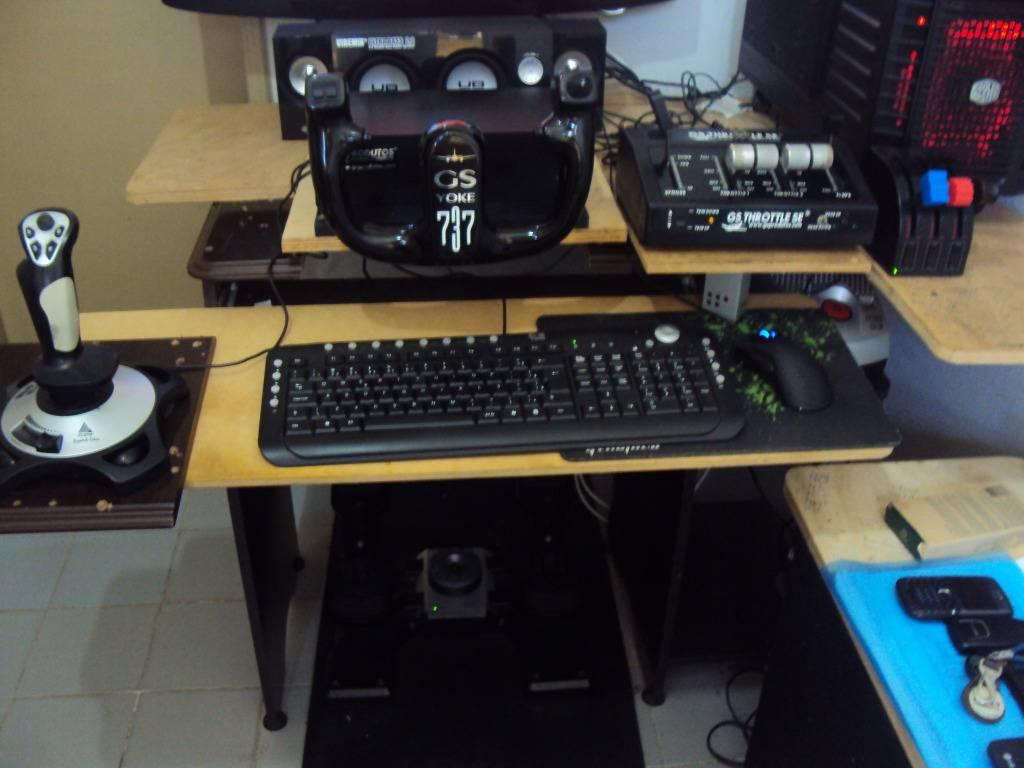 Home cockpit e a máquina DSC09518