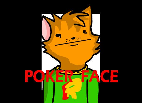 Mis dibujos =3 Pokerface