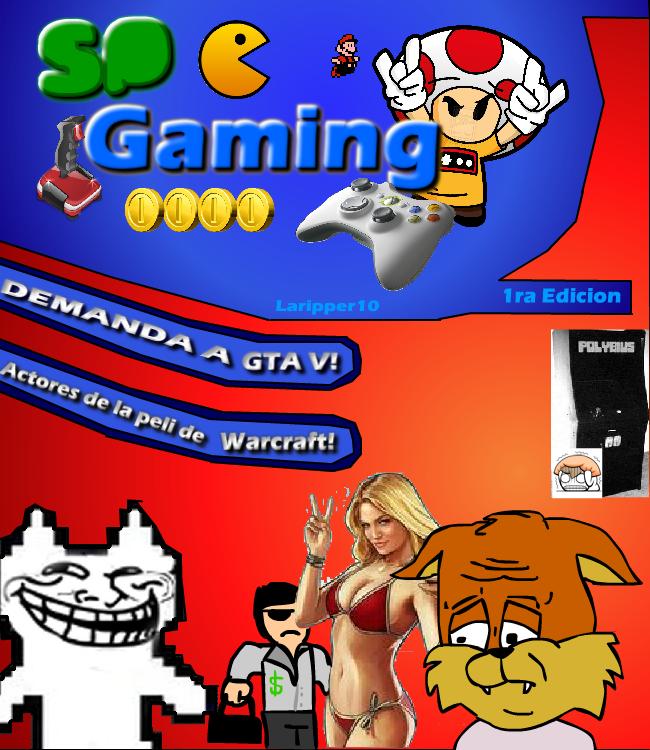 "SP Gaming [""revista"" Gamer] Portada1_zpseb28c754"