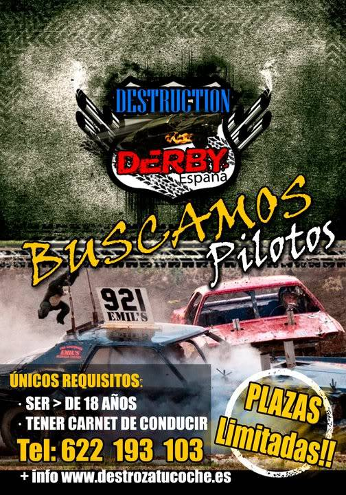 1º Destruction derby en ESPAÑA 63531_171282019572908_171231642911279_382140_592104_n
