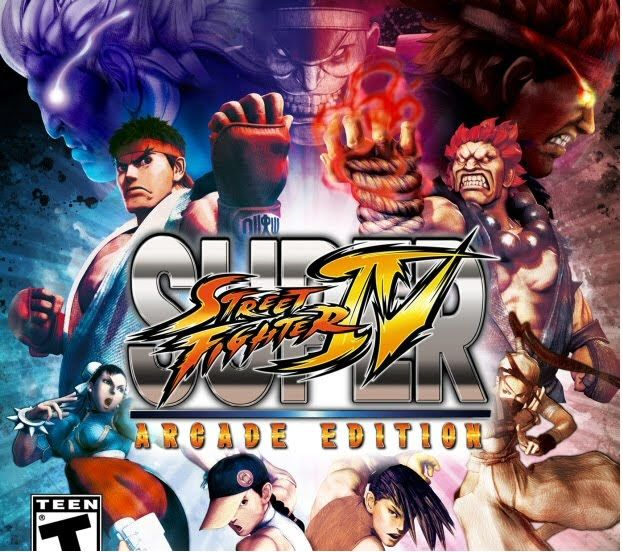 Super Street Fighter IV Arcade Edition SuperStreetFighterIVlogo
