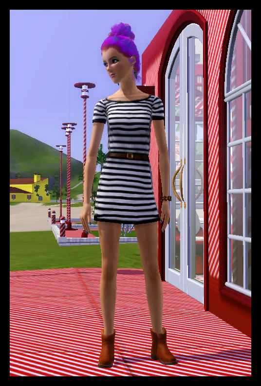 Lori Lemondrop (My first and favorite Berry Sim) Everydaywear