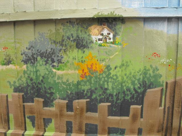 mural for my Mum and her garden DSCF1753