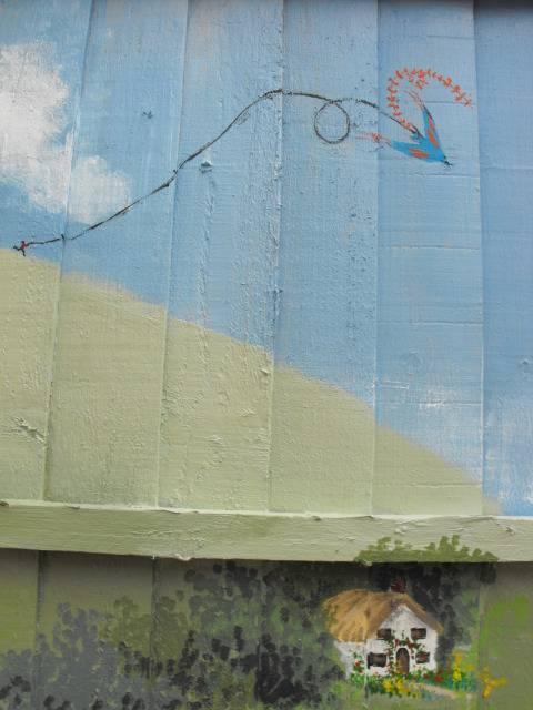 mural for my Mum and her garden DSCF1756