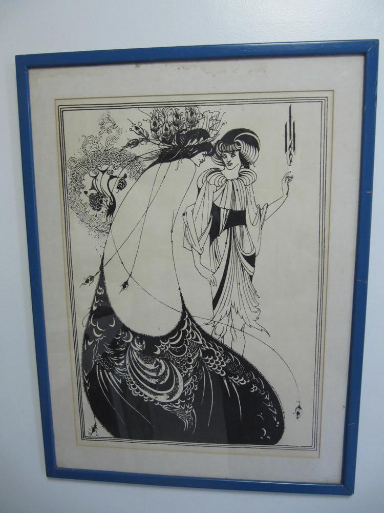 Aubrey Beardsley poster info help? IMG_0883