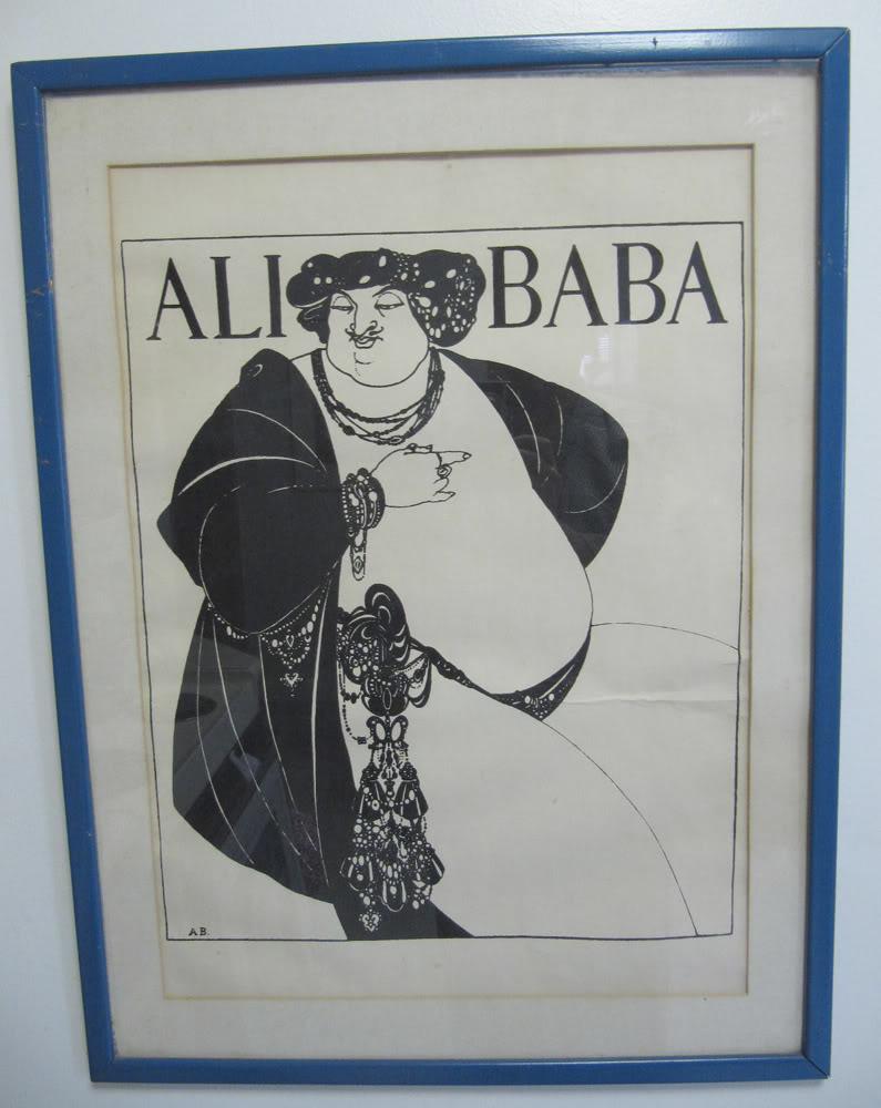 Aubrey Beardsley poster info help? IMG_0885