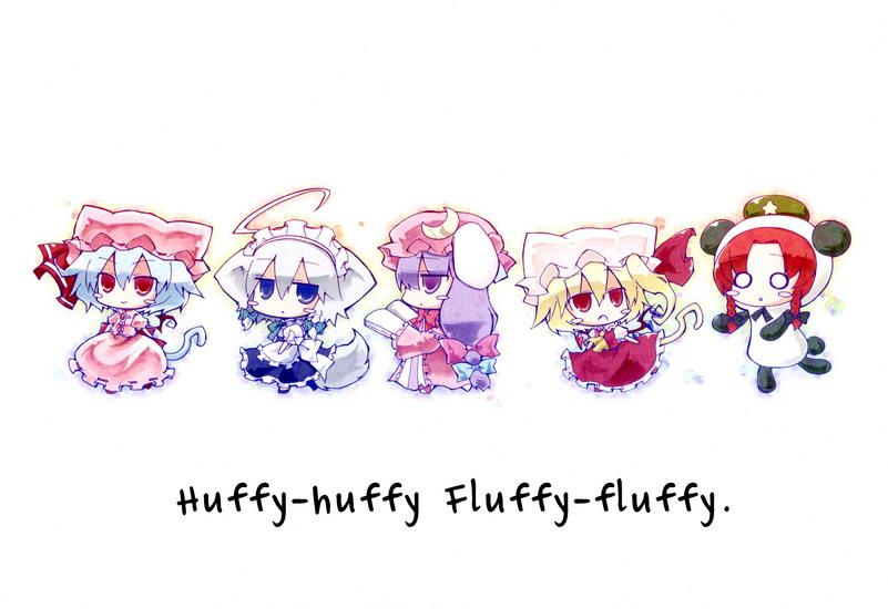 [Doujinshi] Huffy-huffy Fluffy-fluffy Huffyhuffy