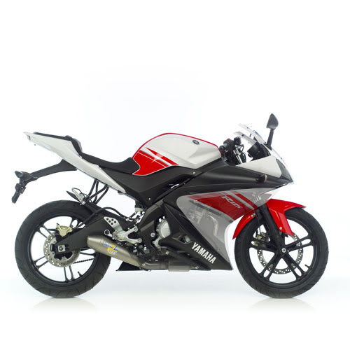 Escape para el Yamaha YZF R15   Escapeleovicered