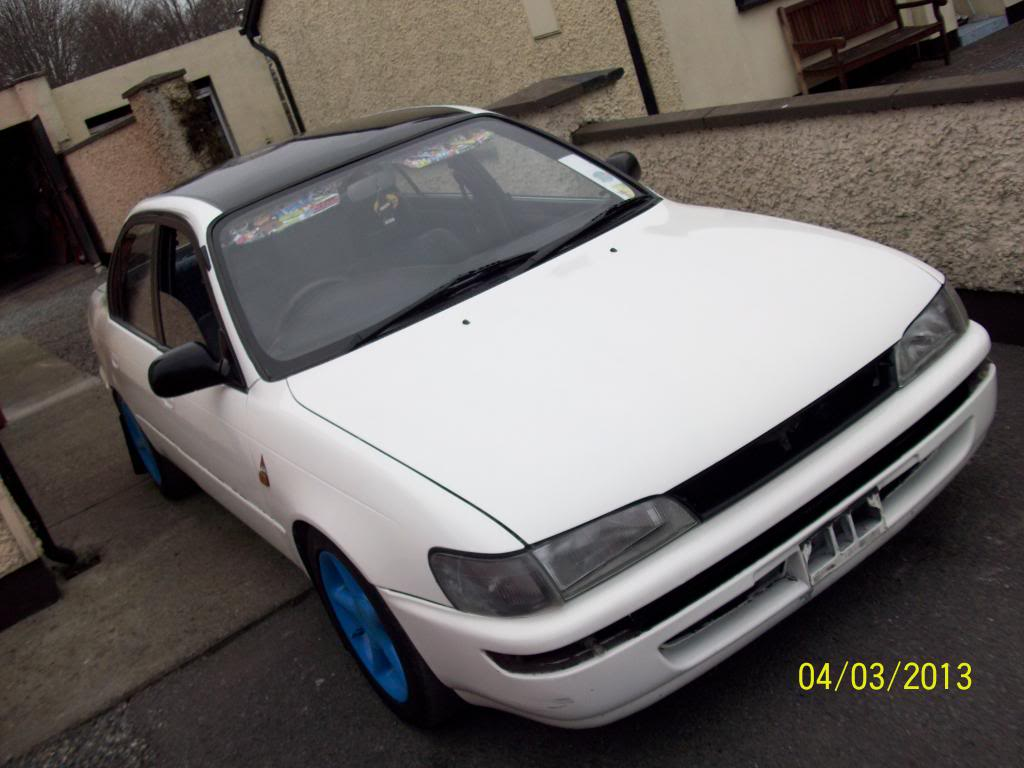My Low and Slow E10 Corolla Saloon -rocker cover, recaro, rimmage page 3 100_1615_zps0594dd21