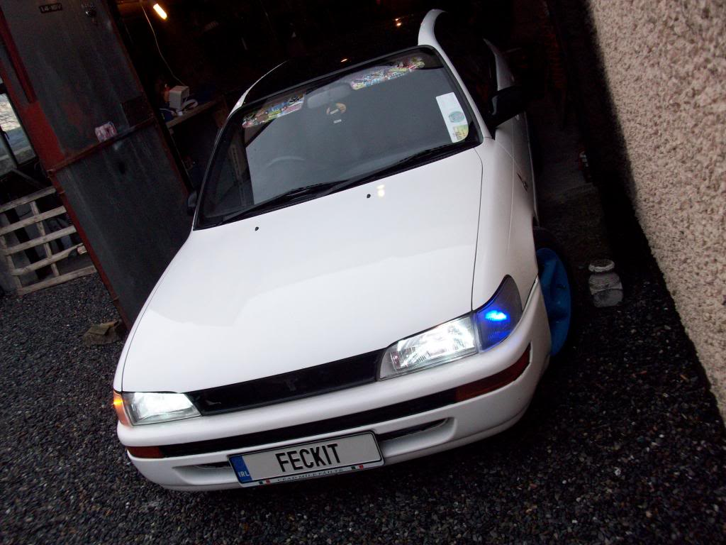 My Low and Slow E10 Corolla Saloon -rocker cover, recaro, rimmage page 3 100_1638_zpsbdedabf1