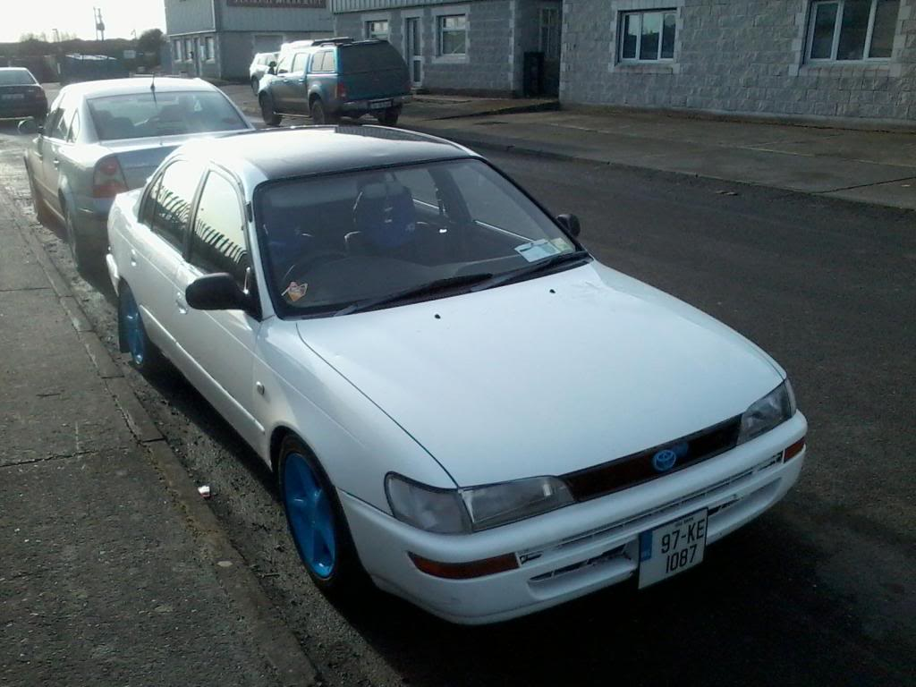 My Low and Slow E10 Corolla Saloon -rocker cover, recaro, rimmage page 3 416742_563970246964973_685080026_o_zps319f01c4