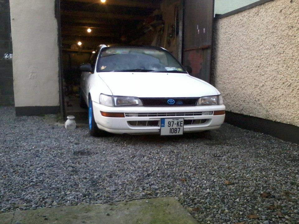 My Low and Slow E10 Corolla Saloon -rocker cover, recaro, rimmage page 3 852_568686999826631_923125980_n_zps309d654d