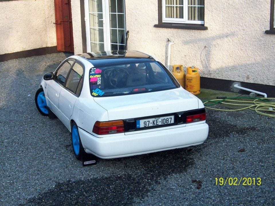 My Low and Slow E10 Corolla Saloon -rocker cover, recaro, rimmage page 3 Image_zps5e53946f